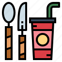 dinner, drink, food, restaurant icon