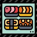 fish, food, japanese, sushi