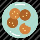 bakery, biscuit, cookie, snack