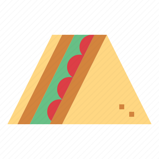 Bread, food, lunch, sandwich icon - Download on Iconfinder