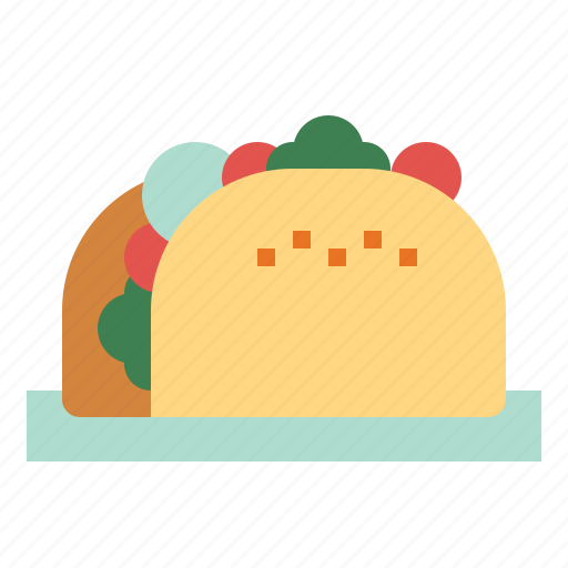 food, lunch, mexican, taco icon