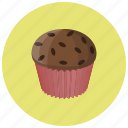 bake, bakery, breakfast, cake, cupcake, dessert, food icon