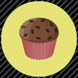 bake, bakery, breakfast, cake, cupcake, dessert, food icon