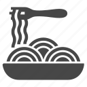 pasta, plate icon