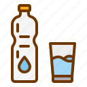 diet, drink, glass, health, water icon