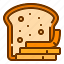 bread, carbohydrate, food, lunch, wheat