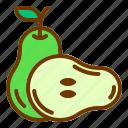 diet, fresh, fruit, health, pear
