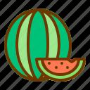 fresh, fruit, health, summer, watermelon