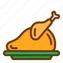 barbeque, chicken, food, meat icon