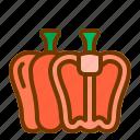 bell, diet, health, pepper, vegan, vegetable