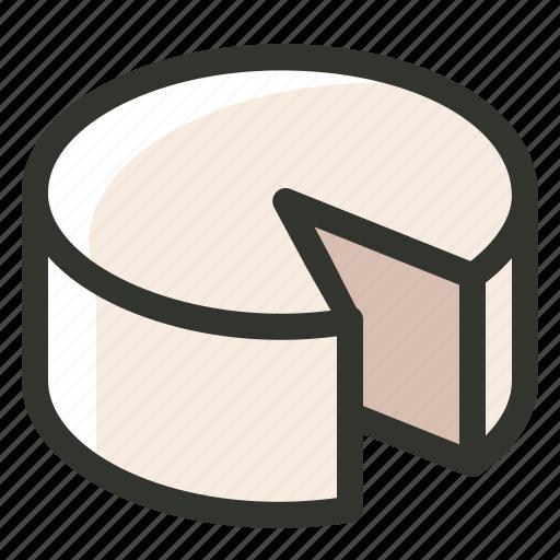 cake, cheese, dessert, food, piece, slice icon