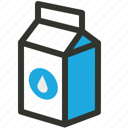 carton, container, dairy, food, milk, pack icon