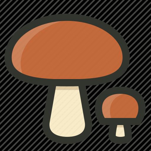 boletus, food, fungi, mushrooms icon