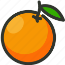citrus, food, fruit, juice, orange icon