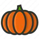 food, gourd, halloween, pumpkin, vegetable icon