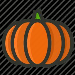 food, gourd, halloween, pumpkin, vegetable icon