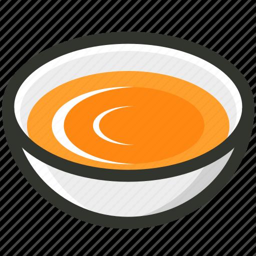 bowl, breakfast, food, soup, tomato icon