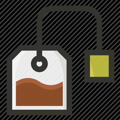 bag, beverage, food, packet, tea icon