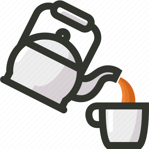 Coffee, food, kettle, pot, tea, time icon - Download on Iconfinder