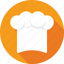 chef, chef hat, chef toque, cook hat, kitchen icon