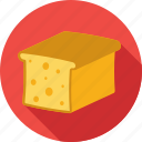 food, cheese, dairy, cheese piece, cheese block