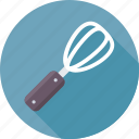 beater, hand whisk, mixer, utensil, whisk icon