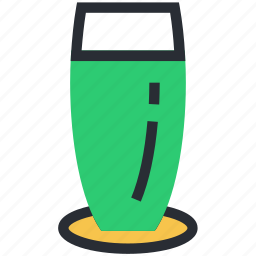 drink, glass, juice, soda, water icon