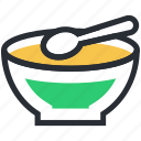 chinese food, liquid food, meal, soup, soup bowl icon