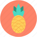 ananas, ananas comosus, organic, pineapple, tropical