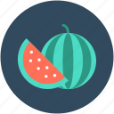 cantaloupe, food, fruit, watermelon, watermelon slice