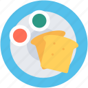 bread slice, bread toast, sandwich, snacks, toast icon