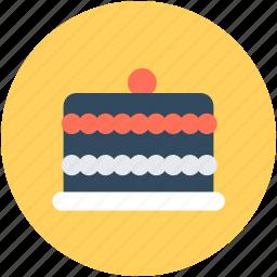 bakery food, cake, dessert, food, sweet food icon