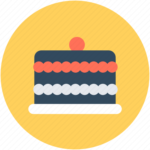 bakery food, cake, dessert, food, sweet food icon