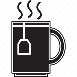 cup, drink, fill, hot, tea icon