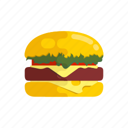 burger, burgerking, cheese, fastfood, food, hamburger icon