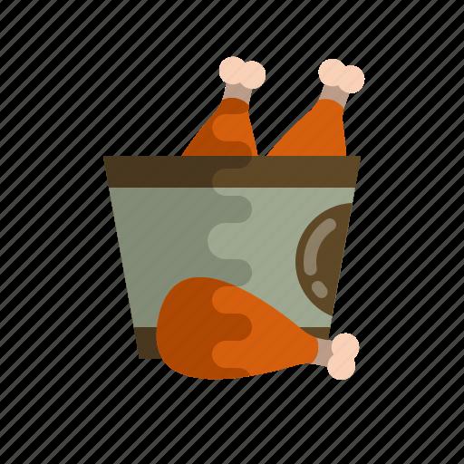 chicken, food, kfc, meat, roast, savory, turkey icon