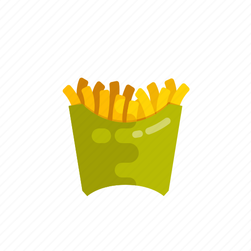 fastfood, food, french, fried, fries, potato, vegetable icon