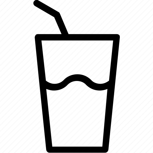 beverage, cold drink, drink, glass, soft drink icon
