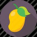fruit, juicy, mango, nutrition, stone fruit icon