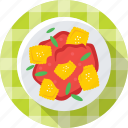 food, jelly, pastry, pudding, sweet icon