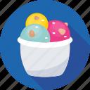 food, dessert, ice cream, ice cream cup, sweet