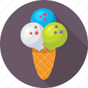cone, dessert, frozen, ice cone, ice cream