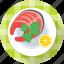 crayfish, platter, prawn, seafood, shrimp icon