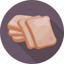 bread, bread slice, breakfast, food, toast