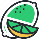 citrus, food, fruit, lemon, lime icon