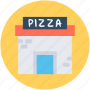pizza place, pizza restaurant, pizza shop, pizza takeaway, pizzeria icon