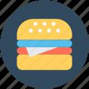 burger, fast food, food, hamburger, junk food