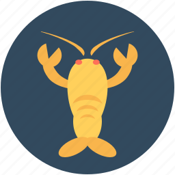 crawdads, crawfish, freshwater lobster, mudbugs, v crayfish icon