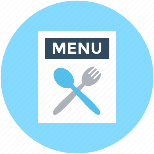 fork, menu icon