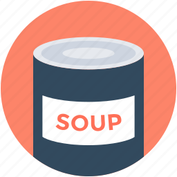 canned soup, healthy food, soup, soup preserves, supermarket food icon